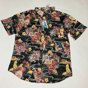 Reyn Spooner Mens Hawaian Shirt Size XXL Mizu New